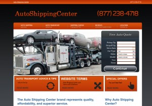 Auto Shipping Website