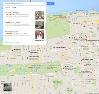Local SEO for Google Maps
