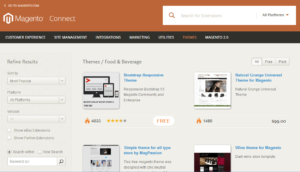 Magento Food and Beverage eCommerce Themes