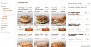 Panera Bread - Order Catering Online