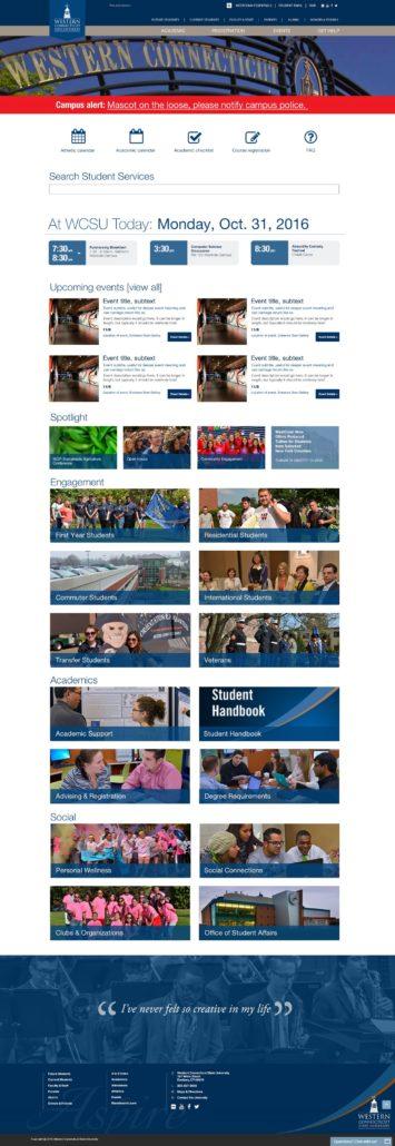Wcsu Academic Calendar.Western Connecticut State University Site Design Tag